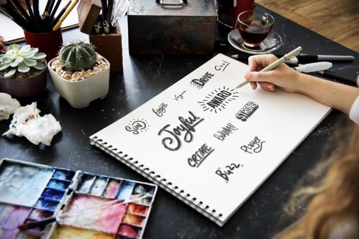 Logo Site Web Affiche Publicitaire Ou Encore Carte De Visite La Typographie Est Au Coeur Lidentit Visuelle Des Marques